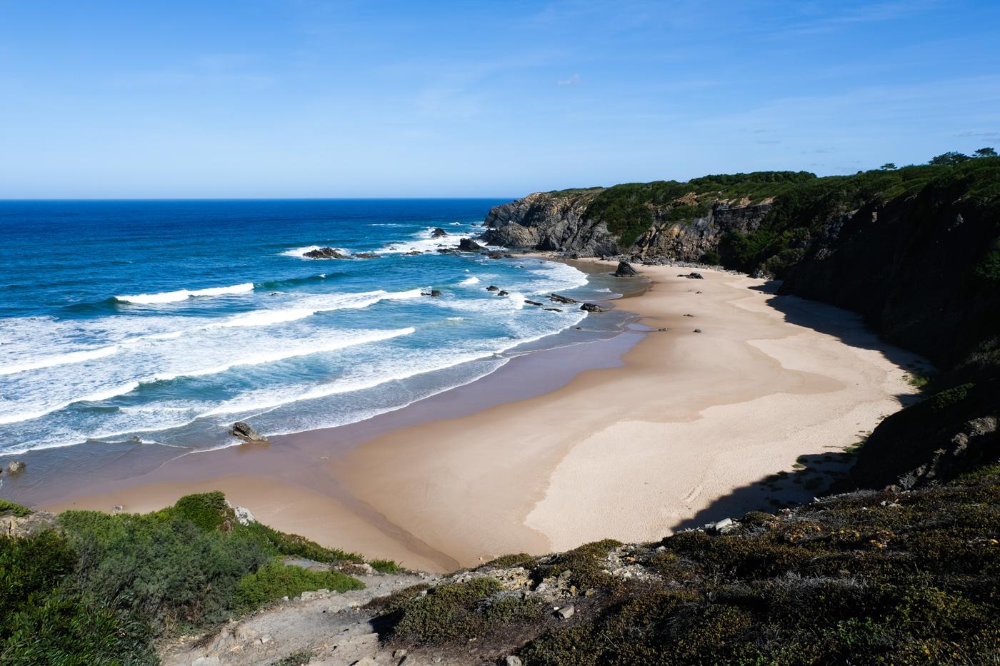 Rota Vicentina cammino a piedi Portogallo sentiero dei pescatori algarve