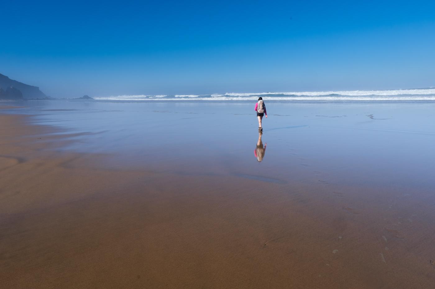 Rota Vicentina cammino a piedi Portogallo sentiero dei pescatori camminare