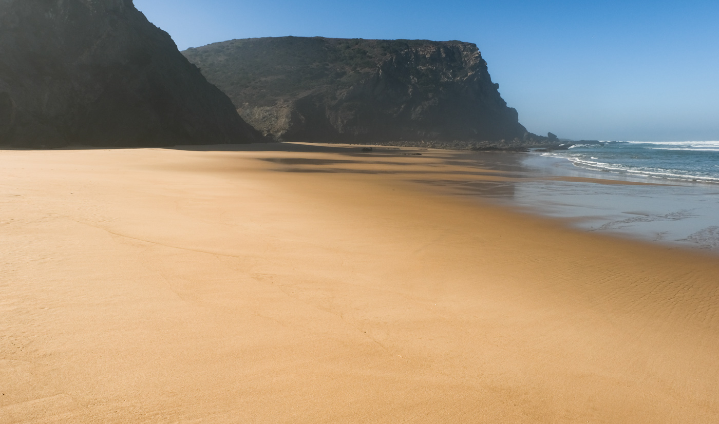 Rota Vicentina cammino a piedi Portogallo sentiero dei pescatori colore