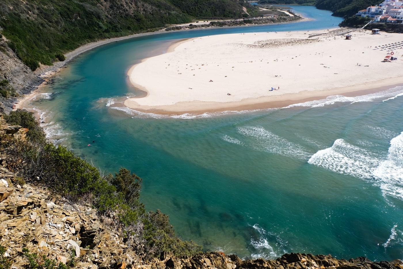 Rota Vicentina cammino a piedi Portogallo sentiero dei pescatori odeceixe