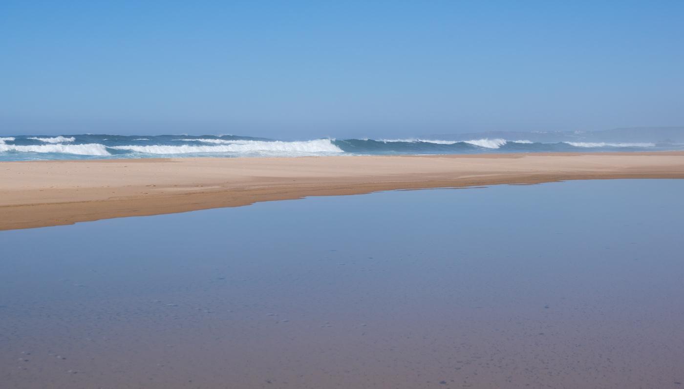 Rota Vicentina cammino a piedi Portogallo sentiero dei pescatori orizzonti