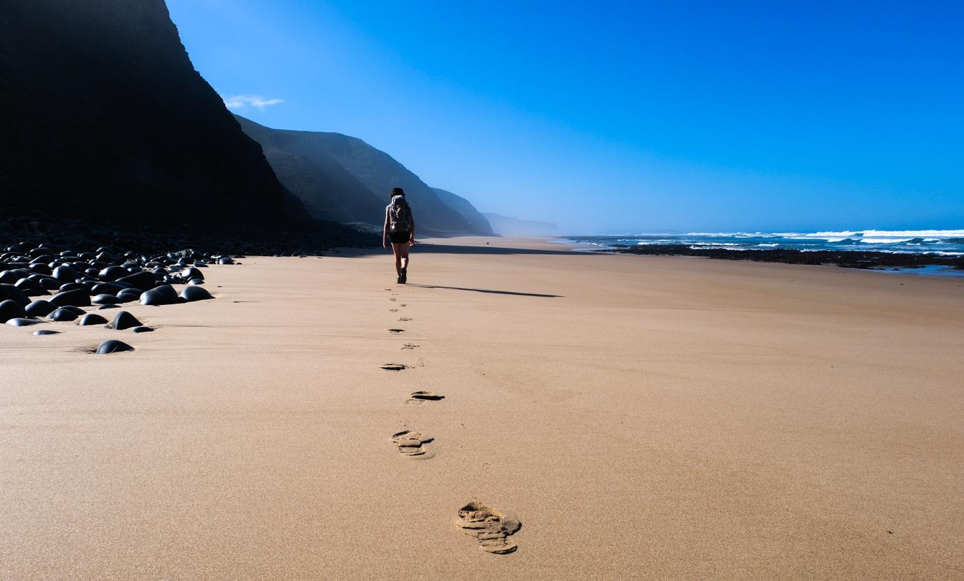 Rota Vicentina cammino a piedi Portogallo sentiero dei pescatori passi
