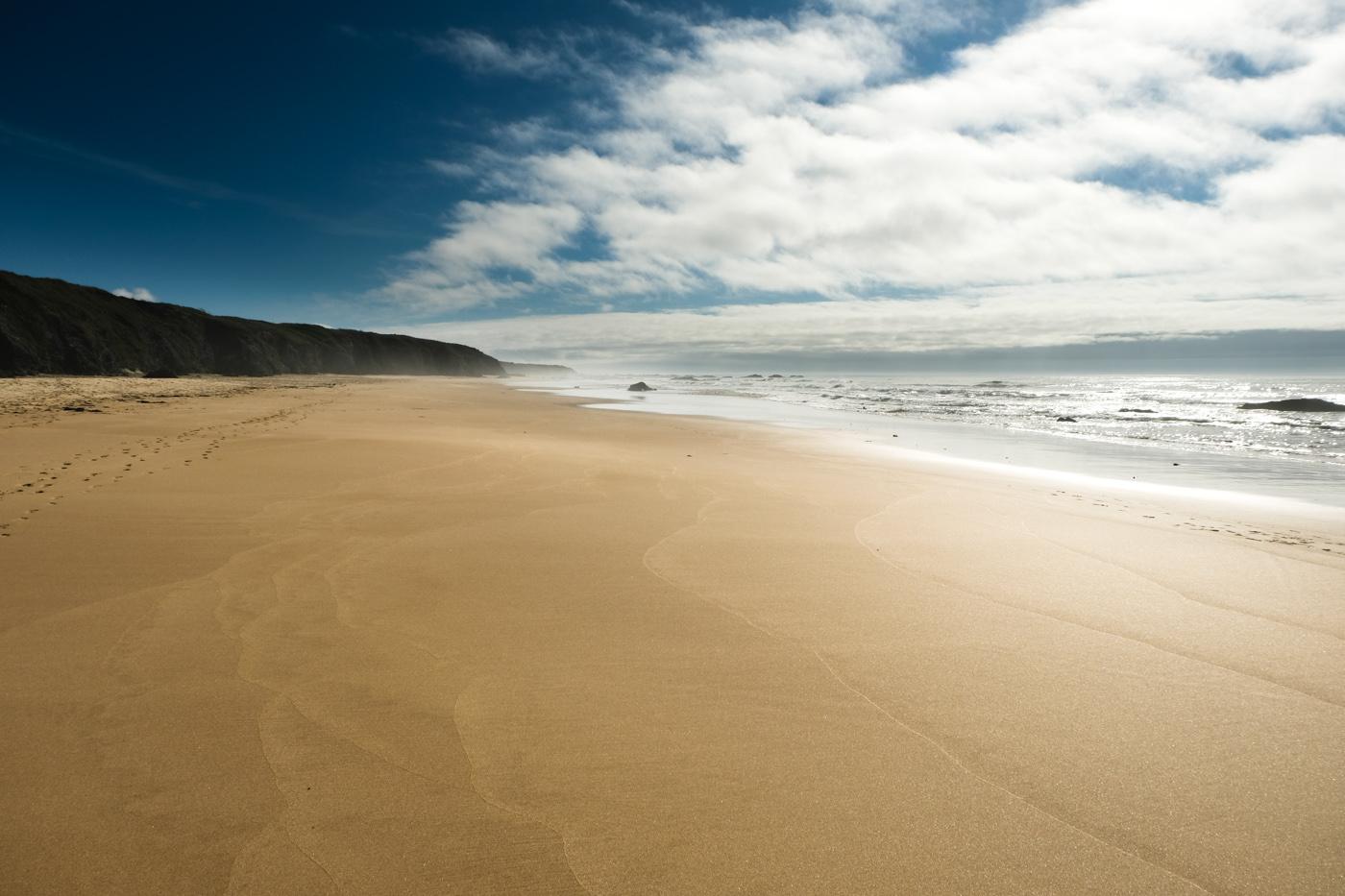 Rota Vicentina cammino a piedi Portogallo sentiero dei pescatori spiaggia