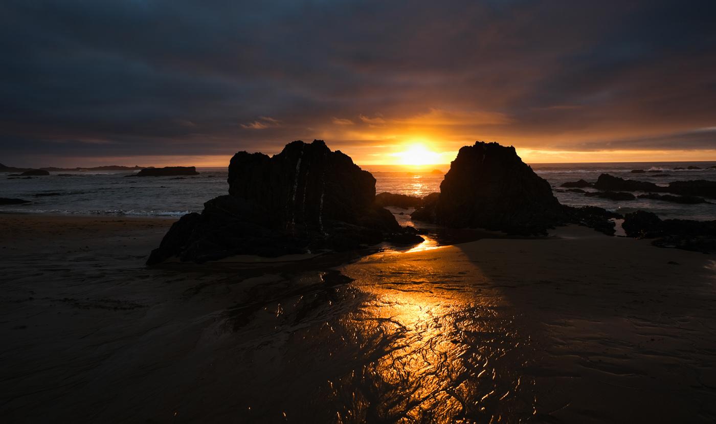 Rota Vicentina cammino a piedi Portogallo sentiero dei pescatori tramonto