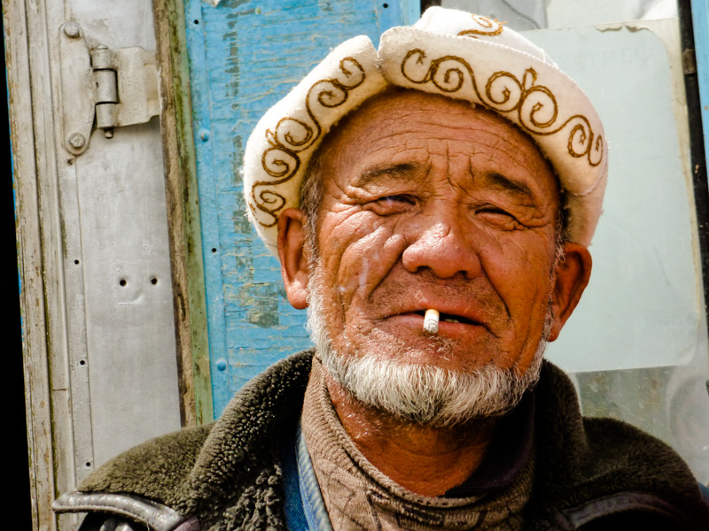 Tagikistan uomo - via della seta