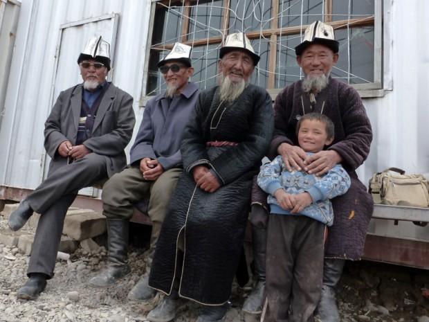 Vecchi Kirghizi - via della seta
