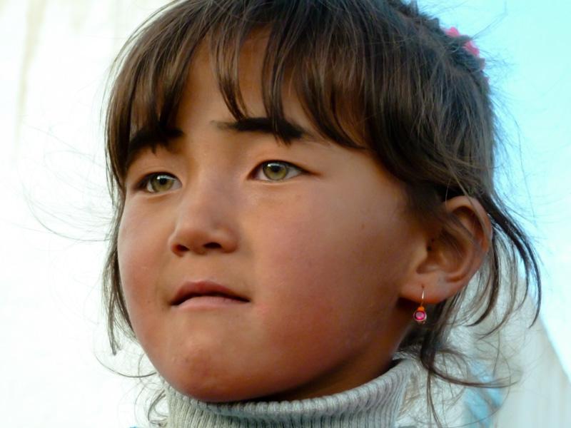 Tagikistan bambina