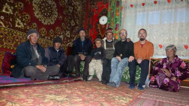Kirghizi famiglia