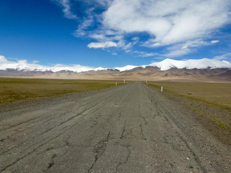 Pamir highway panorama - via della seta