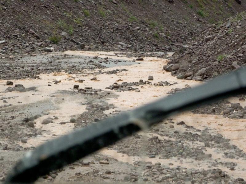 Pamir Highway fango via della seta