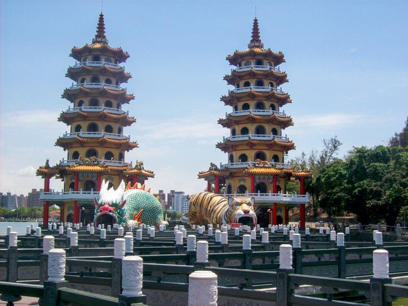 Pagoda del drago e della tigre