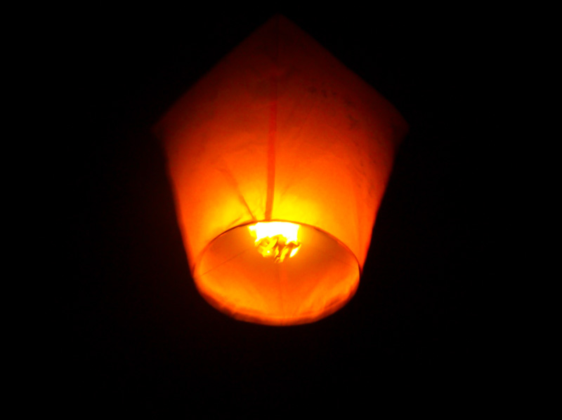 Taiwan lanterna rossa