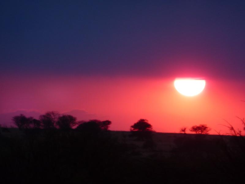 Tanzania tramonto