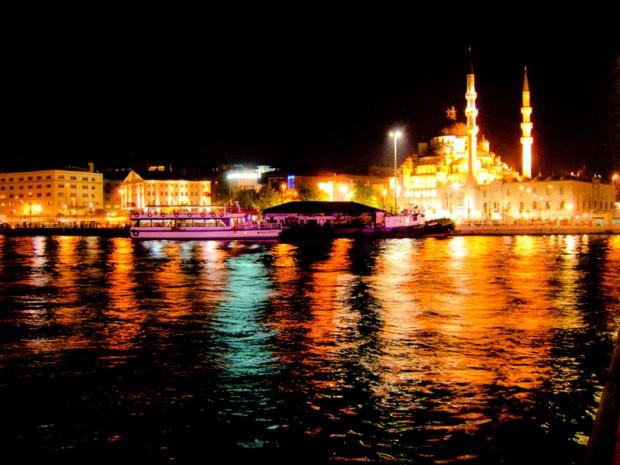 Turchia istanbul notte