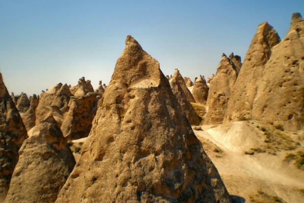Turchia cappadocia camini delle fate