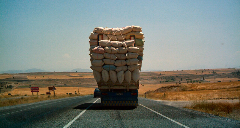 Turchia strada camion
