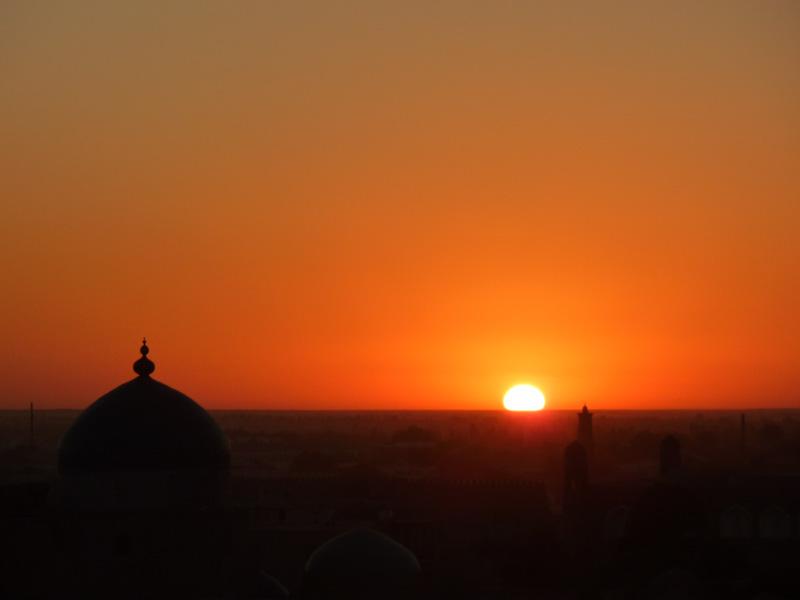 Khiva tramonto