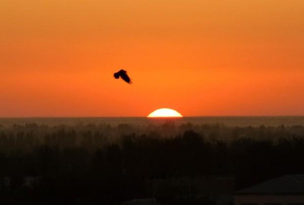 Uzbekistan tramonto