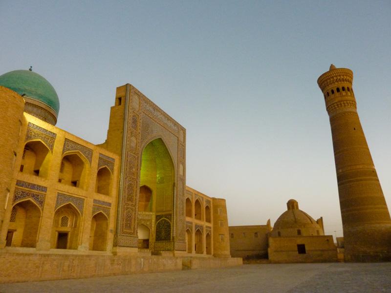 Bhukara minareto e moschea