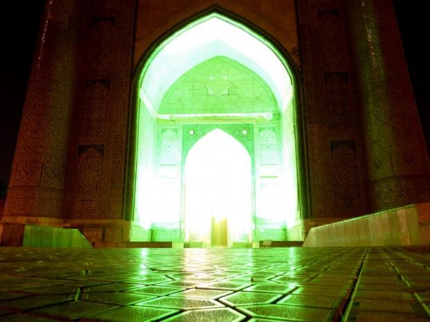 Uzbekistan moschea Khiva