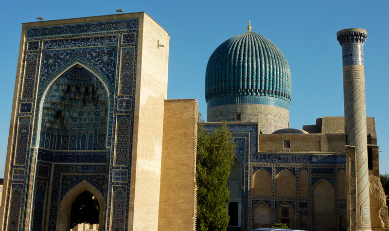 Uzbekistan registan samarcanda