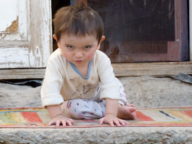 Uzbekistan bambini
