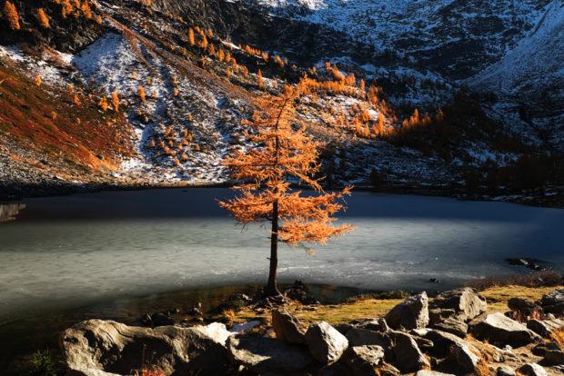 Valle d'aosta - lago d'Arpy