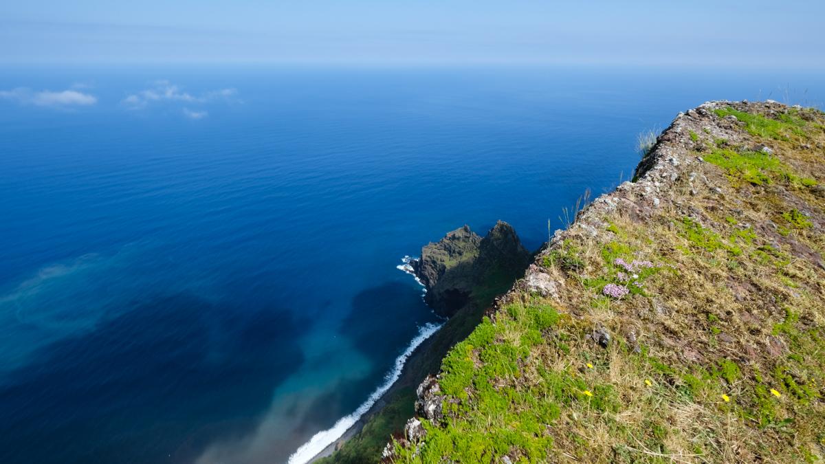 Viaggio a Corvo isole Azzorre panorama cratere 1