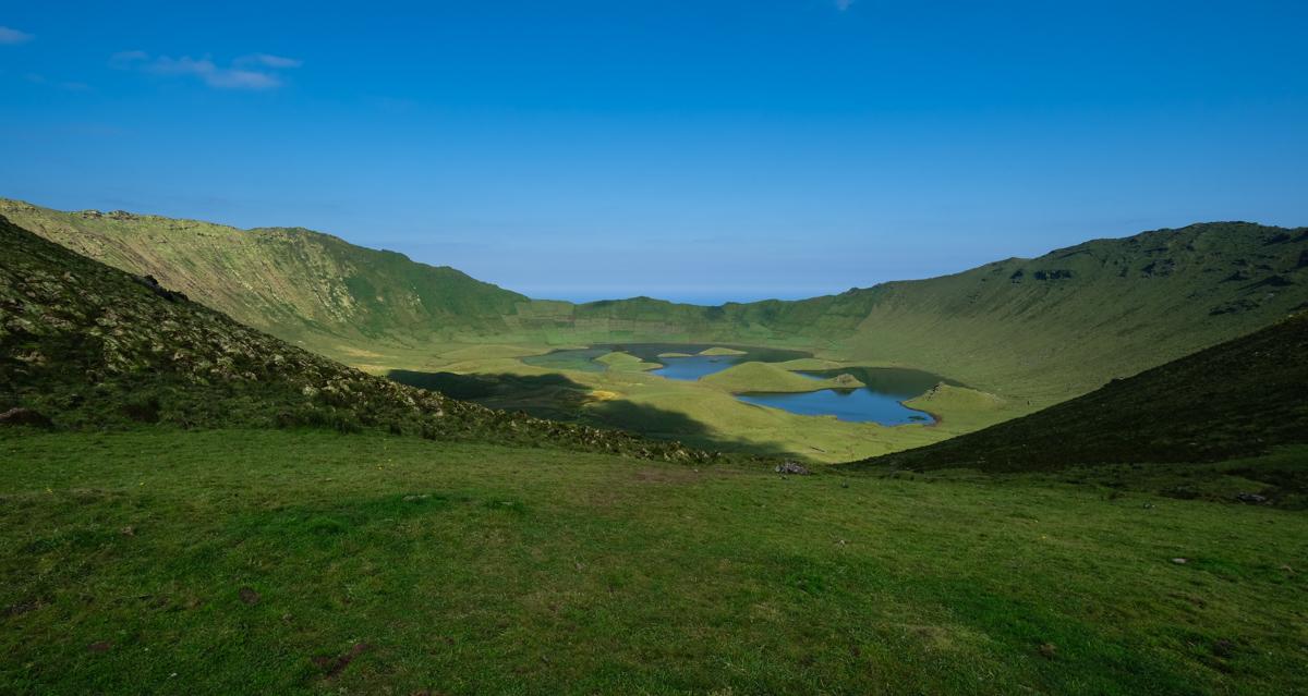 Viaggio a Flores e Corvo isole Azzorre laghi vulcano