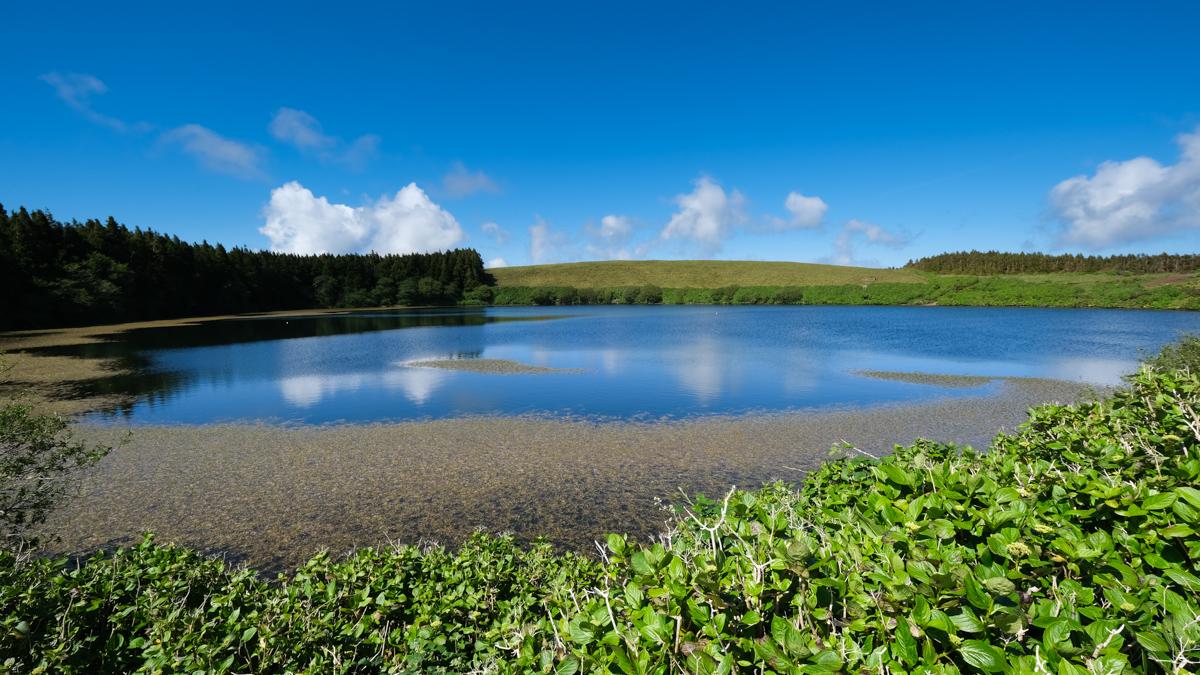 Viaggio a Flores e Corvo isole Azzorre laguna Comba