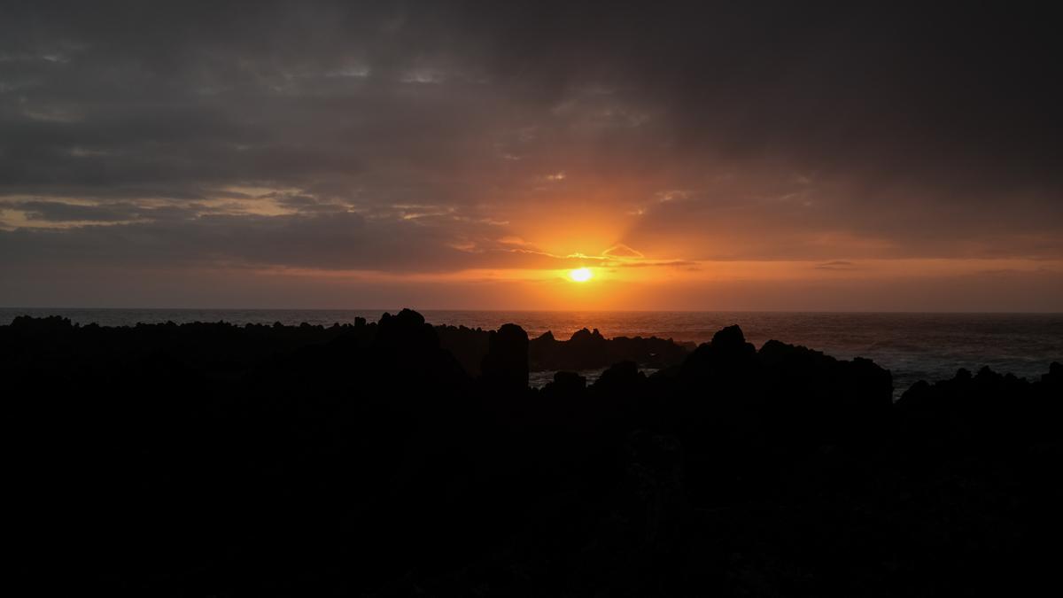 Viaggio a Flores e Corvo isole Azzorre tramonto