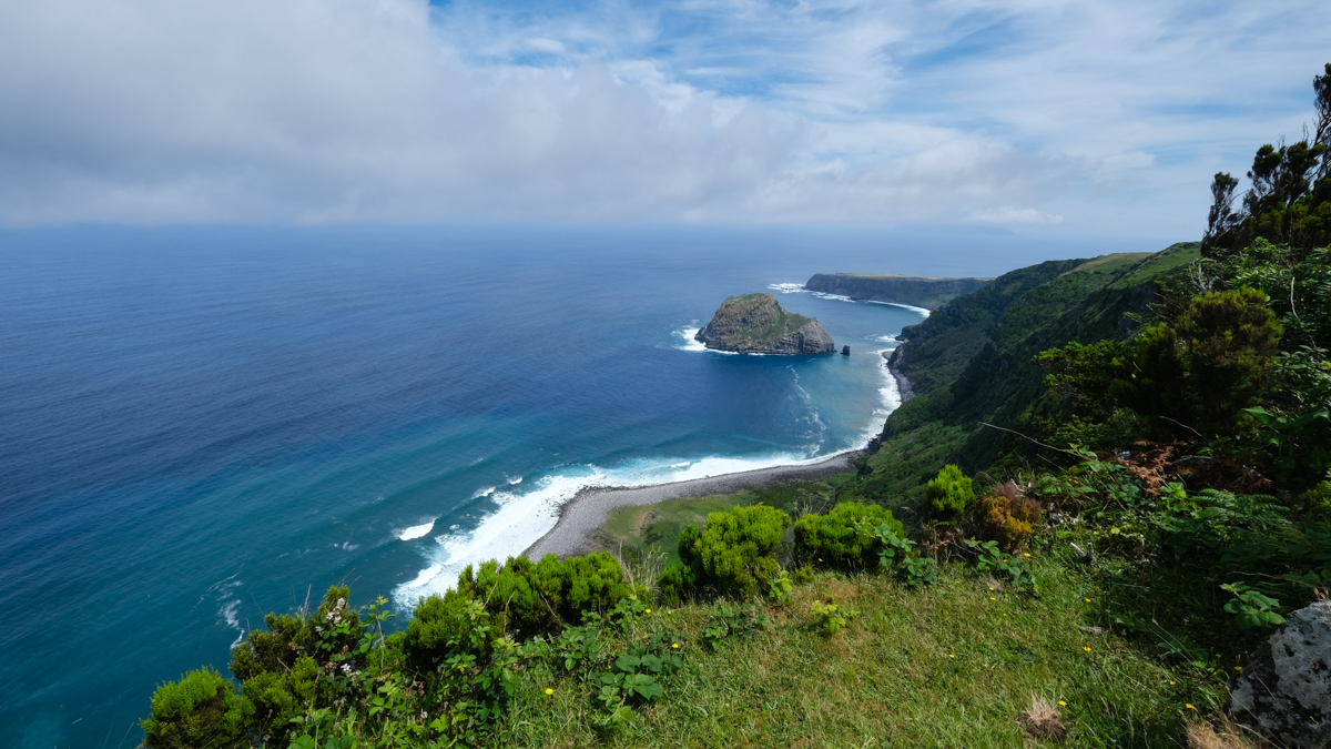 Viaggio a Flores e Corvo isole Azzorre vulcano trek