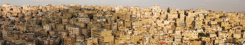 Viaggio in Giordania racconto amman panorama