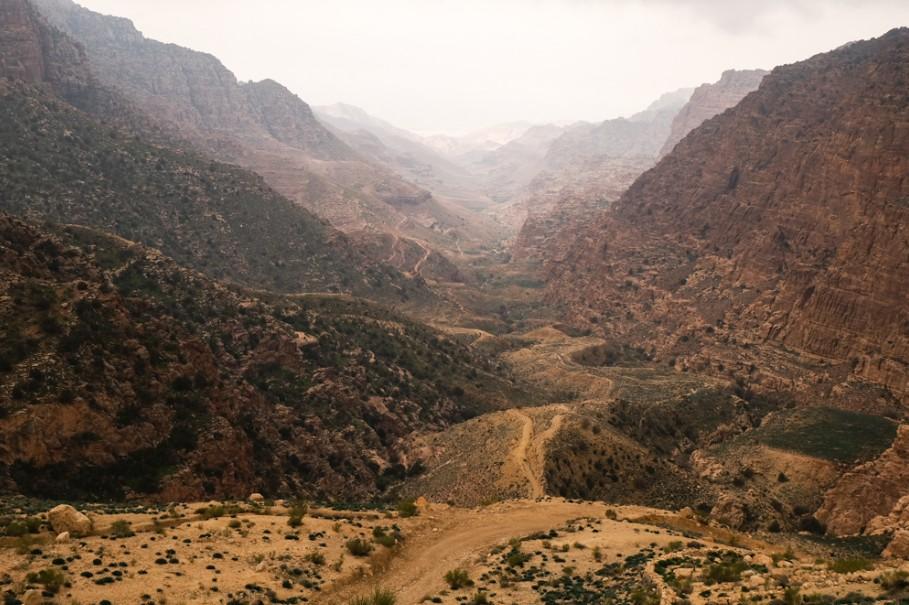 Viaggio in Giordania racconto canyon dana blog