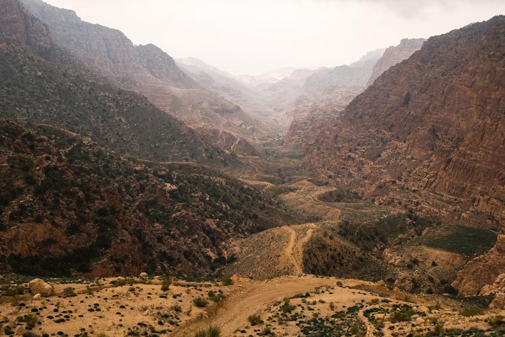 Viaggio in Giordania racconto canyon dana