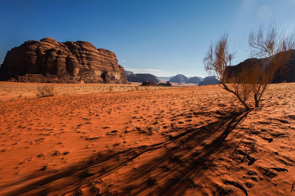 Viaggio in Giordania racconto deserto wadi rum dune rosse