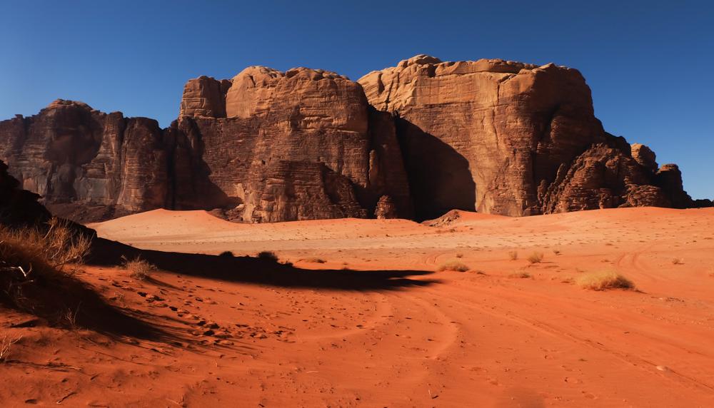 Viaggio in Giordania racconto deserto wadi rum tramonto