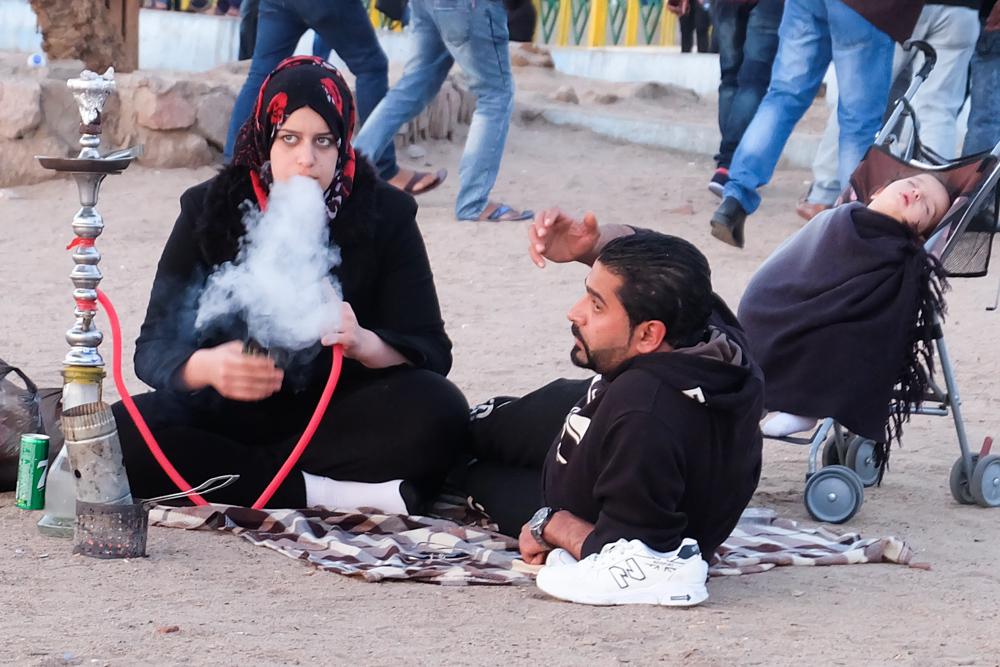 Viaggio in Giordania racconto fumo