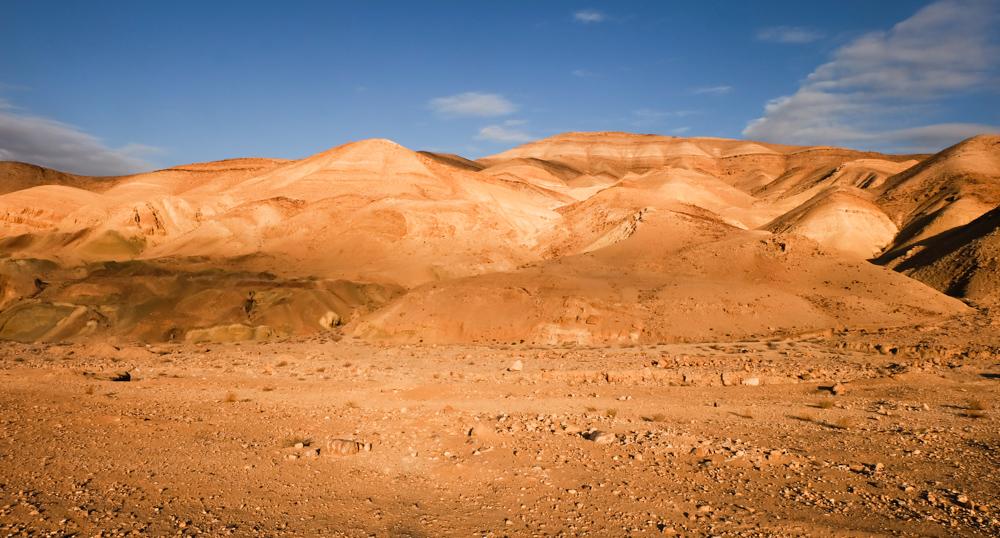 Viaggio in Giordania racconto panorama montagne