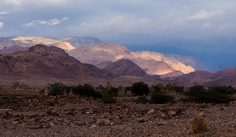 Viaggio in Giordania racconto panorama
