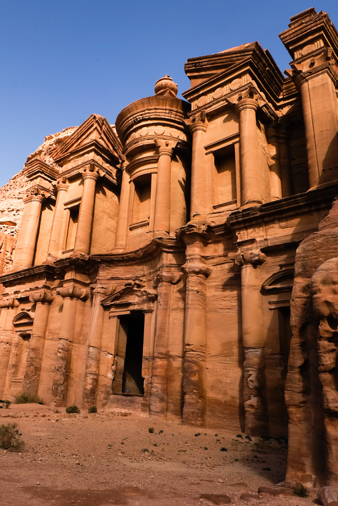 Viaggio in Giordania racconto petra monastero