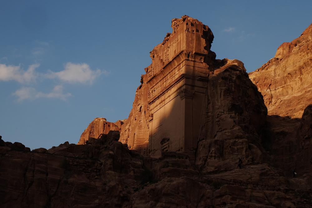 Viaggio in Giordania racconto petra monumento