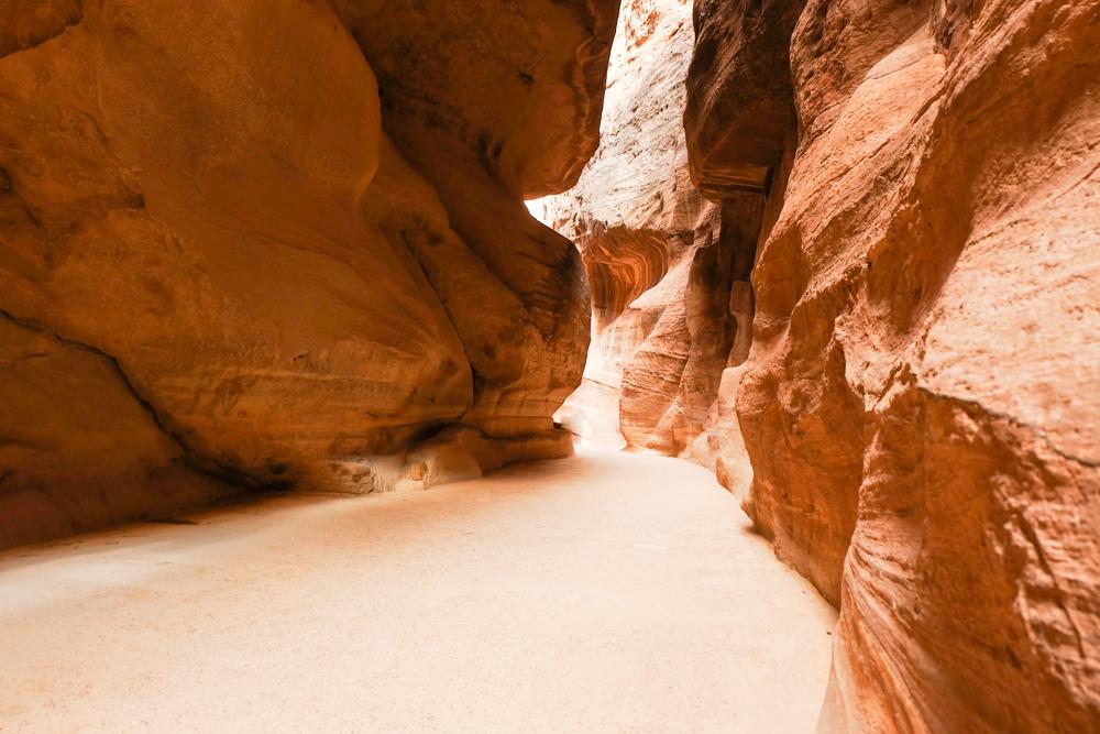 Viaggio in Giordania racconto petra siq