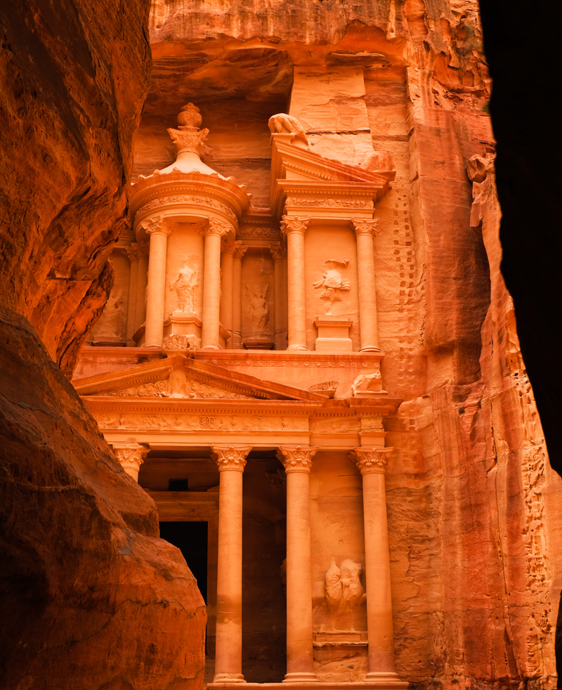 Viaggio in Giordania racconto petra tesoro