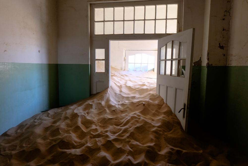 Viaggio in Namibia citta abbandonata