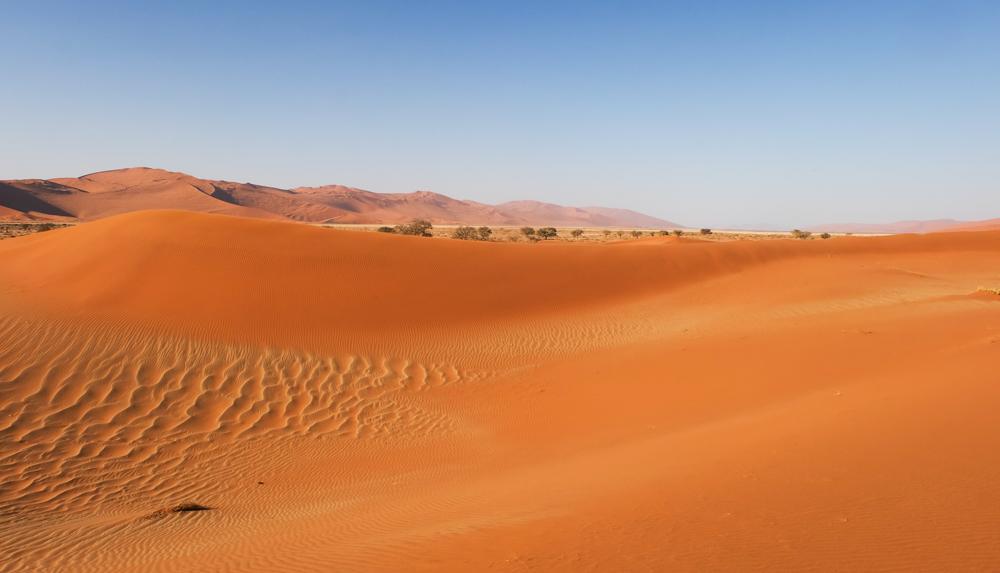 Viaggio in Namibia deserto panorama