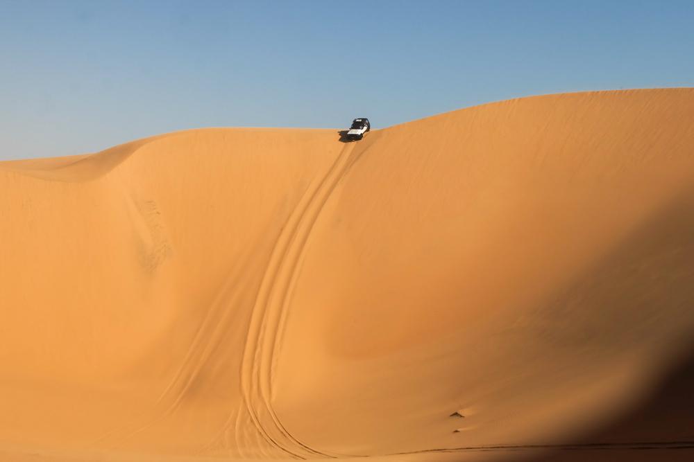 Viaggio in Namibia dune jeep