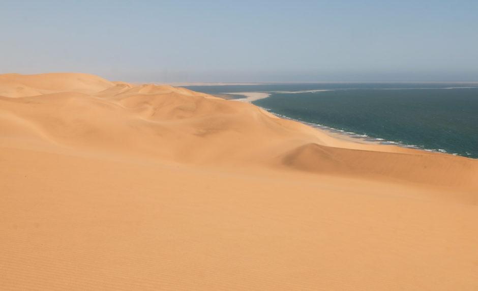 Viaggio in Namibia dune oceano