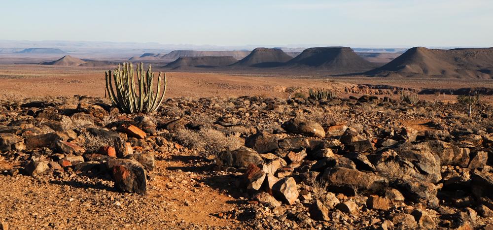 Viaggio in Namibia fish river canyon vista