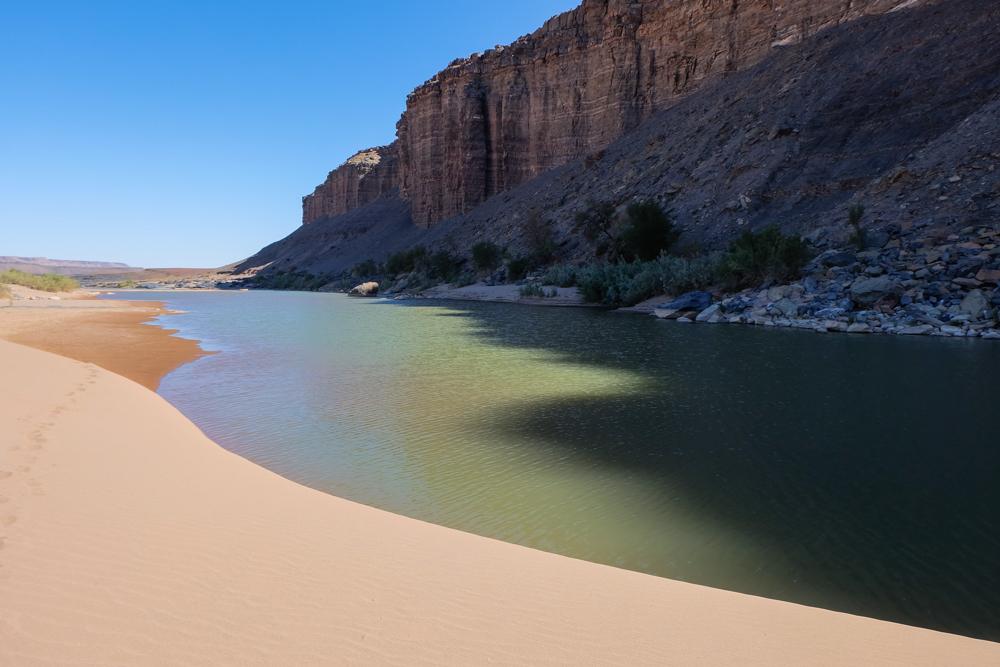 Viaggio in Namibia fish river fiume